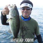 琵琶湖バスフィッシングガイドリポート ~大島様~ 44cm