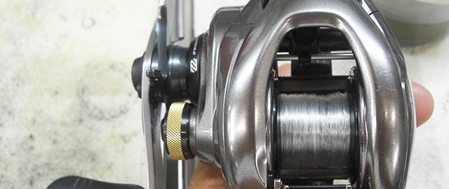 シマノ 15 メタニウムDC XG オーバーホール修理 写真