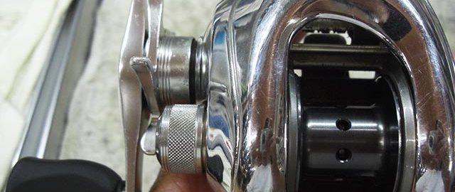 シマノ 06 アンタレスDC オーバーホール修理値段 写真