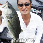 琵琶湖バスフィッシングガイドリポート~岩本様~ 40cm