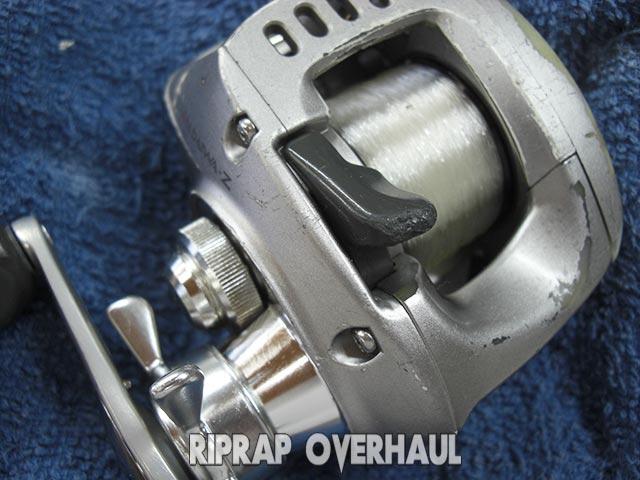 ダイワ TD-Z 103HL リールオーバーホール 修理写真