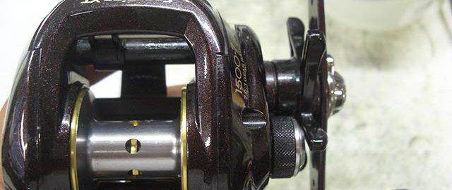 シマノ スコーピオンXT 1500 オーバーホール 写真