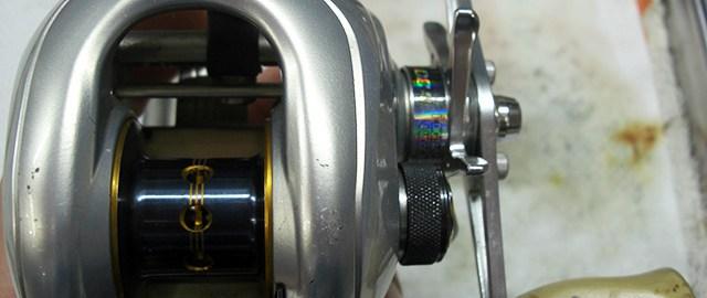 シマノ 08 メタニウムMgDC メンテナンスオーバーホール 修理写真