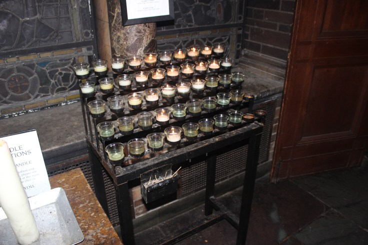 Votive Candles in St. Bart's New York City