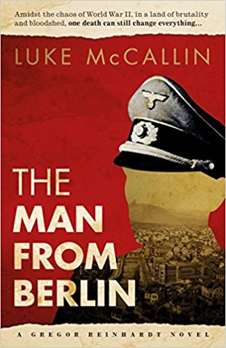 cover photo of the man from berlin by Luke Mcallin