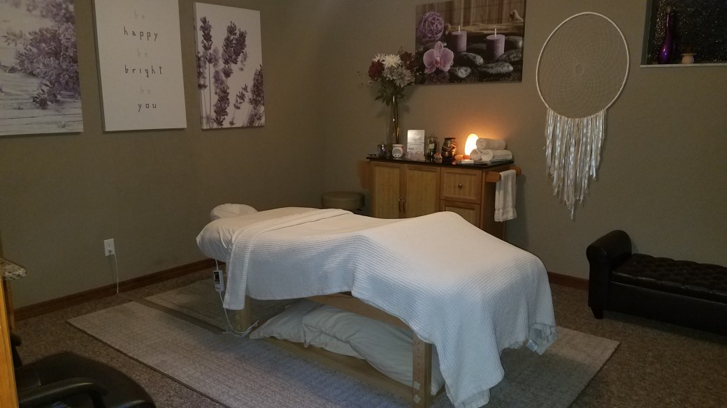 Massage room at Be Well Holistic Massage Wellness Center