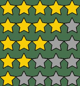 Bewertungen kaufen und Sterne sammeln