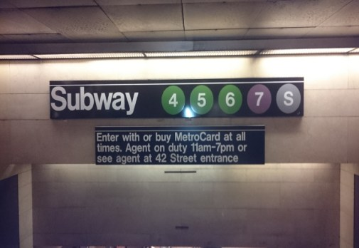New York City Subway (photo/ Leana Van Rooyen)