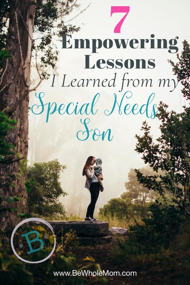 empowering lessons learned from special needs son