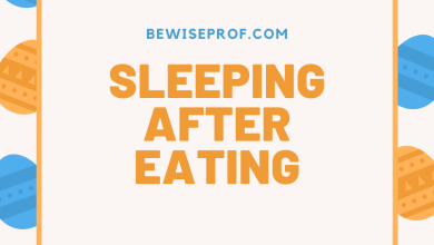 Photo of Sleeping after eating