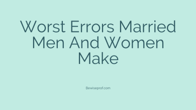 Photo of Worst errors Married Men and Women Make