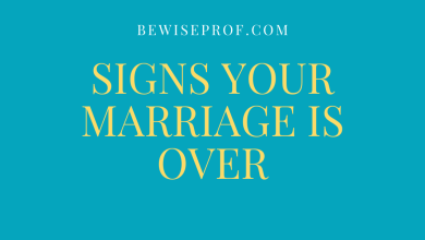 Photo of Signs your marriage is over