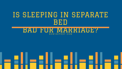 Photo of Is Sleeping In Separate Bed Bad For Marriage?