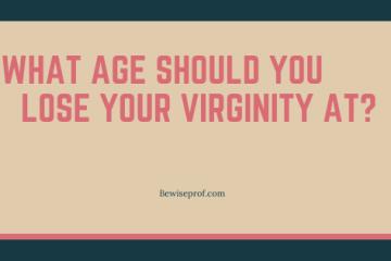 when should i lose my virginity