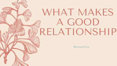 Photo of What Makes A Good Relationship?