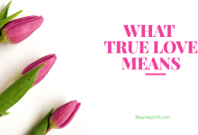 Photo of What True Love Means?