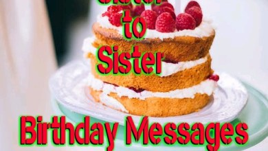 Photo of Sister to Sister Birthday Messages