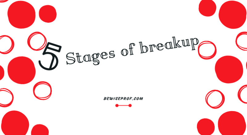 5 stages of breakup
