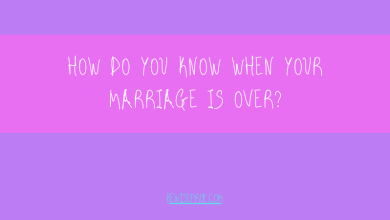 Photo of How do you know when your marriage is over?