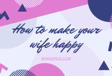 Photo of How to make your wife happy