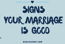 Photo of Signs your marriage is good