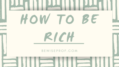 Photo of How to be rich