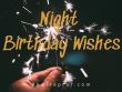 Night Birthday Wishes