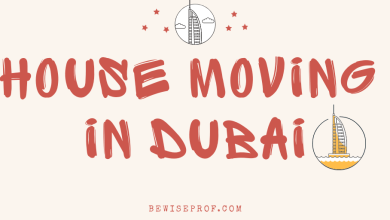 Photo of House Moving in Dubai