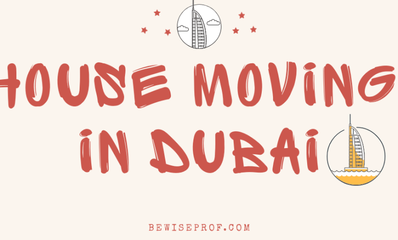 House Moving in Dubai