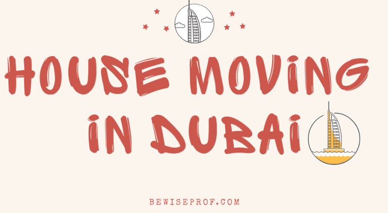House Moving in Dubai