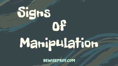 Photo of Signs Of Manipulation