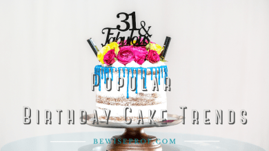 Photo of Popular Birthday Cake Trends 2020
