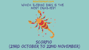 Scorpio (23rd October to 22nd November) - Which Zodiac Sign Is The Most Craziest