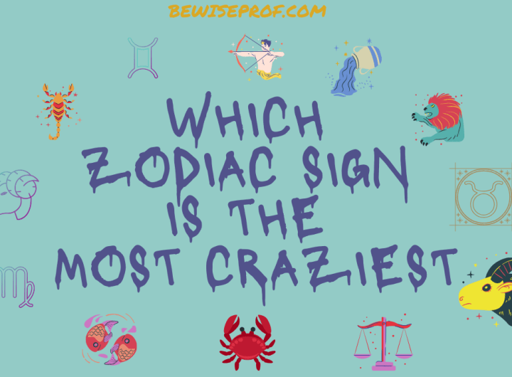 Which Zodiac Sign Is The Most Craziest