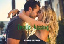 Photo of Erotic kissing