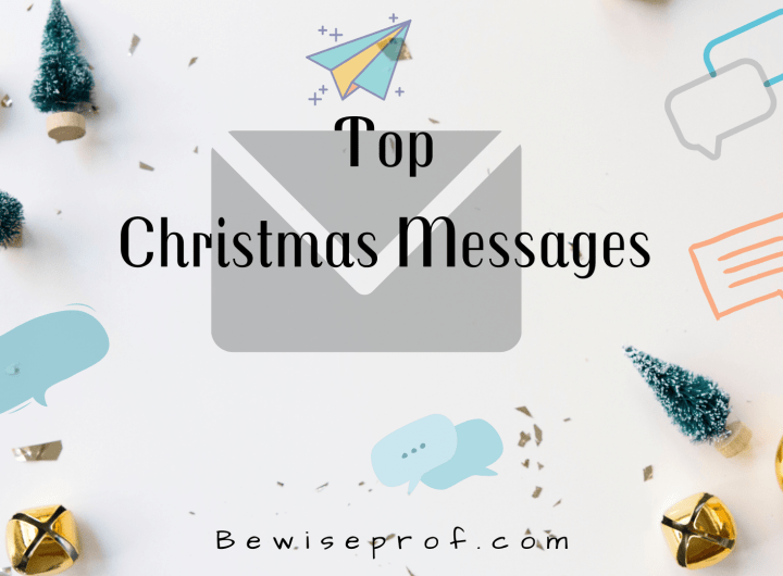 Top Christmas Messages In 2020