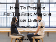 How To Prepare for the First Meeting After Online Communication