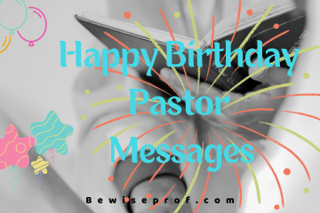 Happy Birthday Pastor Messages