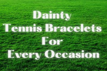 Dainty Tennis Bracelets for Every Occasion