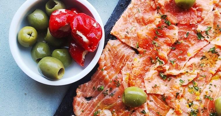The King Salmon Carpaccio Recipe You Must Make