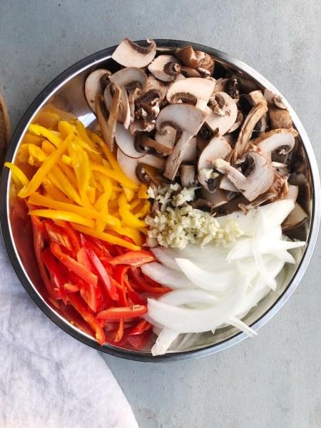 Alternative ingredients for meat free version