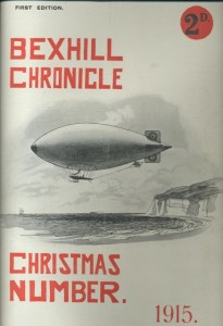 Zeppelin - Bexhill Chronicle, Christmas Number 1915