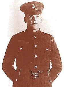 CSM Nelson Victor Carter 1915. Image courtesy of Paul Reed,