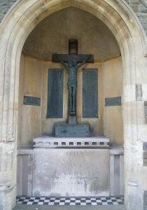 The Peace Memorial at St. Mary Magdalene's Church, Bexhill.