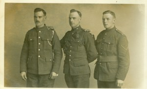 STEVENS Jack [Left] STEVENS Louis Percival [Lu] [Middle] PARBERY John Henry [Jack] [Right] reduced
