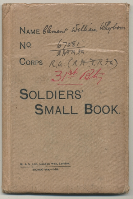 Soldiers Book 1