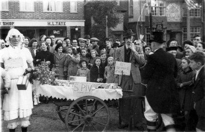 Bonfire Society & Spiv (LC) c1950