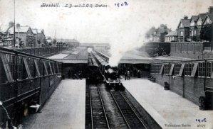 Central Station c1908