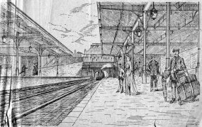 Central Station sketch Jan 1902