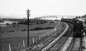 Crowhurst Line and 17 arches, Bexhill c1949 to 50